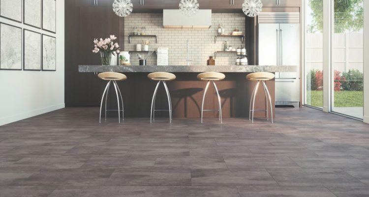 TORLYS EverTile Elite in Smoke Canyon Colour in A Kitchen