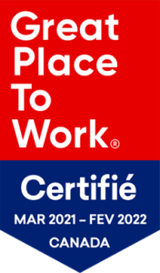 Great Place to Work Certification Badge French Mars 2021