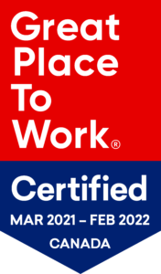 Great Place to Work Certification Badge March 2021